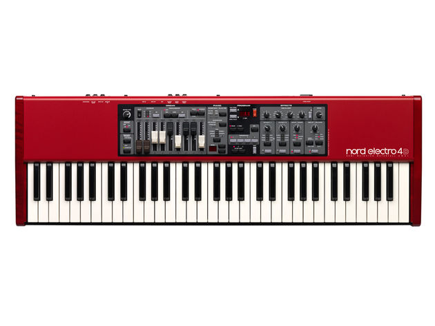 The Nord Electro 4D: the stage keyboard for the player who doesn't want to put their back out.