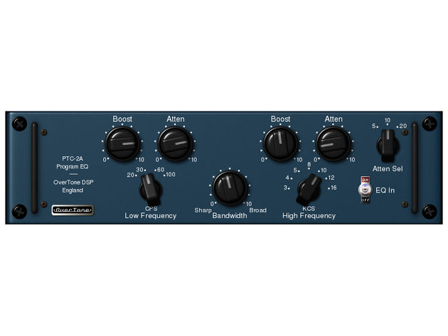 OverTone DSP PTC-2A Vintage Program EQ