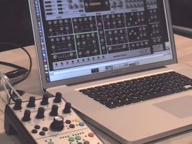 Musikmesse 2012 video: u-he demos Faderfox controller for ACE synth