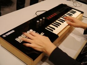VIDEO: Yamaha Vocaloid Keyboard