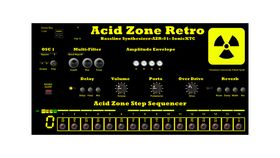 Free Acid Zone Retro VST plugin synth from SonicXTC