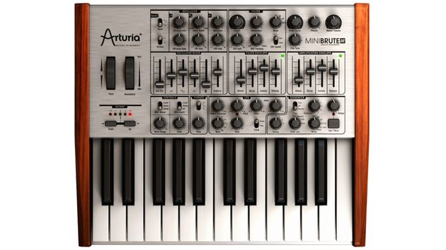 Arturia MiniBrute SE analogue synth unveiled