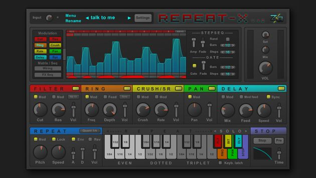 Repeat-X: does crazy stuff to your audio.