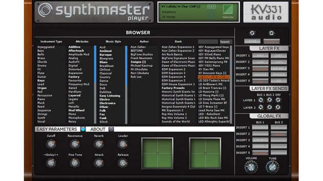 Don't need the full version of SynthMaster? Try the Player edition.