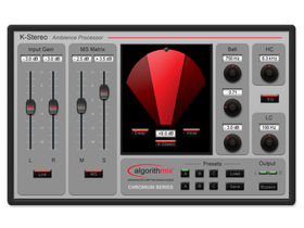 Algorithmix releases K-Stereo ambience processor