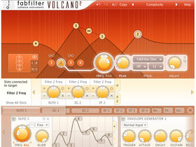 FabFilter Volcano 2 features customisable interface