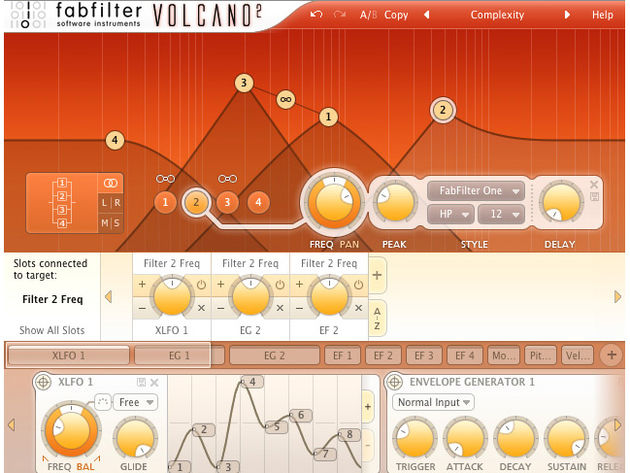 Volcano promises to deliver analogue-style filtering.