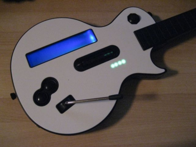 A MIDI guitar with a difference...