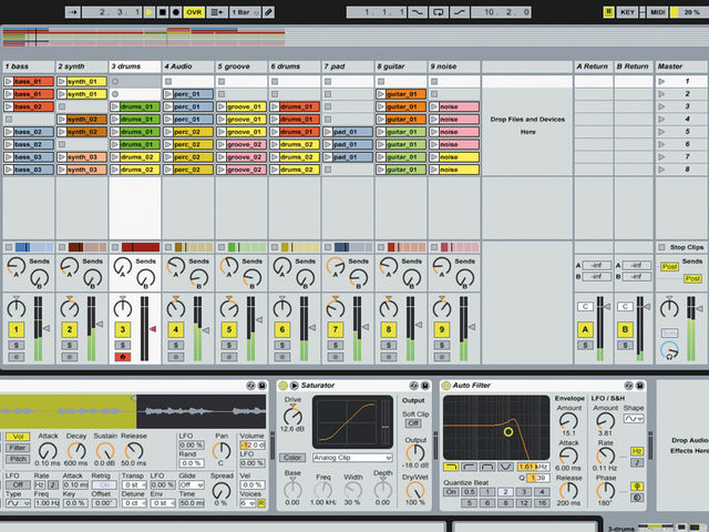 As its name suggests, Ableton Live is a great app for the gigging laptop musician.