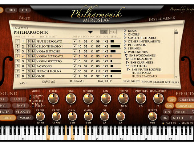 A decent orchestral ROMpler- such as IK Multimedia's Miroslav Philharmonik - is a must-buy for any would-be soundtrack composer.