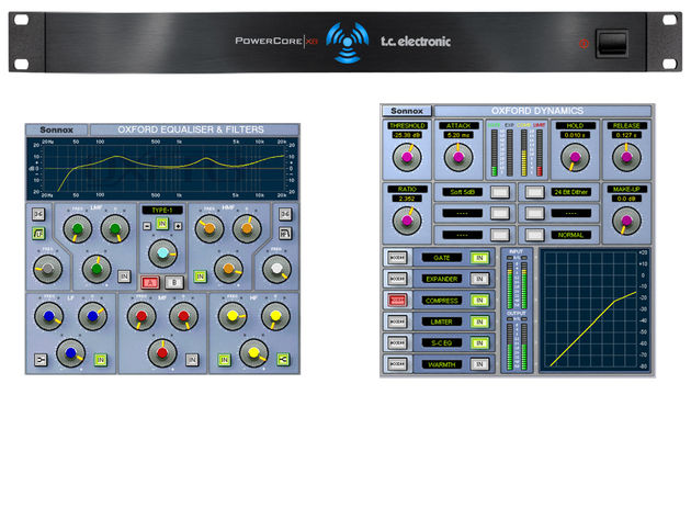 The Oxford EQ and Dynamics processors are included.