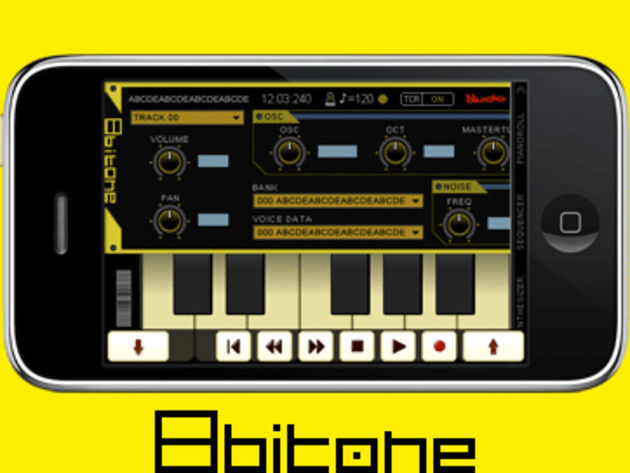 8bitone puts '80s sounds in the palm of your hand.
