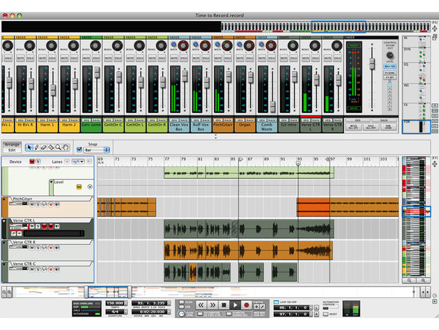 Propellerhead Record: take it for a spin.