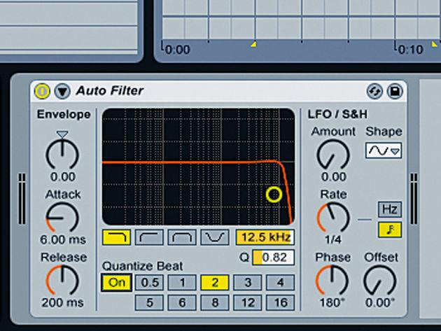 Auto Filter Quantize Beat
