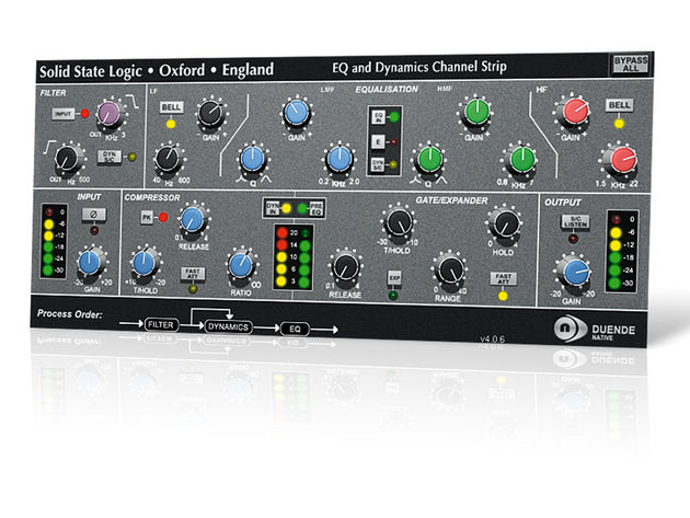 Solid State Logic Duende Native Channel Strip
