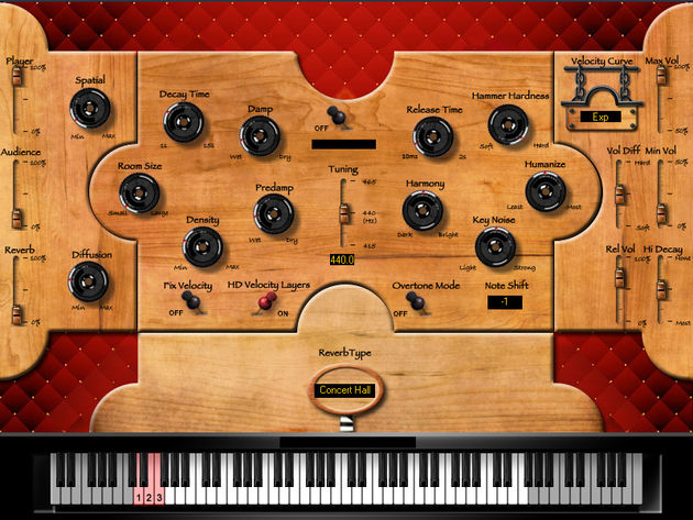 Sound Magic Hybrid Harpsichord