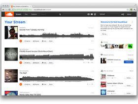 New version of SoundCloud now in beta