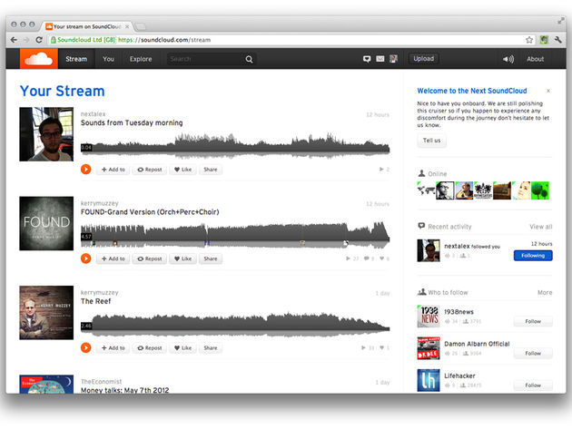 The changes in the Next SoundCloud are more than cosmetic.