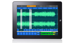 'First fully functional iPad mastering app' released