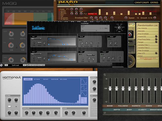 Subtractive and additive synths and a free effects bundle