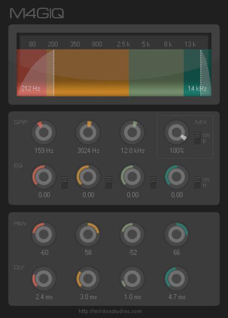Mildon studios hue-x + m4giq plugin bundle