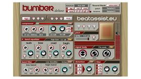 BumBer Deluxe: free VST plugin bass drum synth/sampler