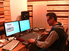 Me in my studio: Mungo's Hi Fi