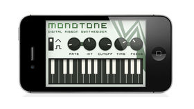 Monotone Delay synth released for iPad and iPhone