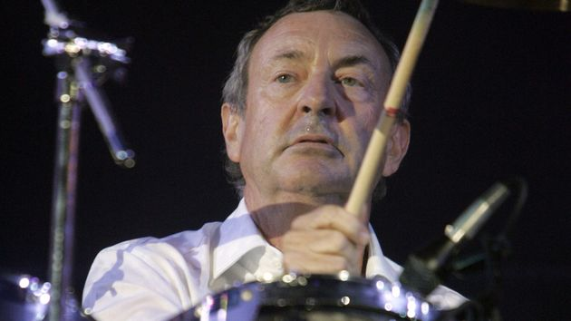 Nick Mason: happy to let you meddle with his kit.