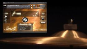 Software instrument Swell to deliver virtual cymbals