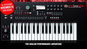 Elektron unveils Analog Keys synth