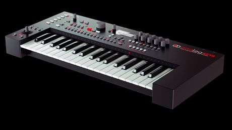 The Analog Keys has a more 'boxy' look than we first thought.