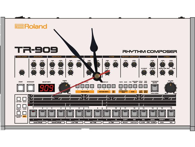 Roland TR-909 clock