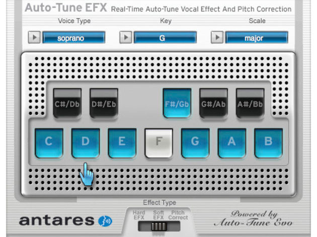 Auto-Tune EFX: robotic vocal effects are only $129 away.