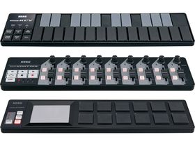 Korg nanoSeries controllers now available in black