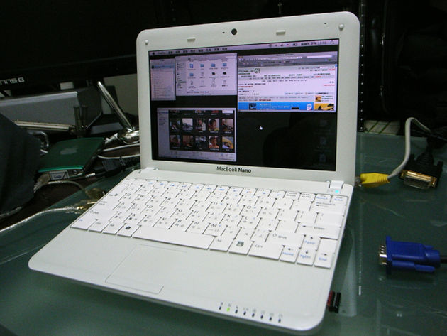 Some impatient fans have created their own OS X netbooks.