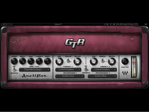 The new GTR3 amps deliver Citron's personal sound.
