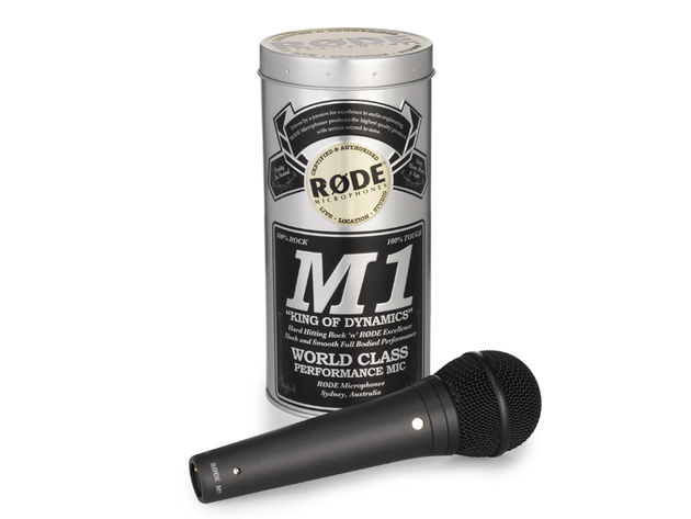 The Rode M1: if Chuck Norris wanted a mic, he'd buy this one.