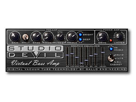 Virtual Bass Amp plug-in from Studio Devil