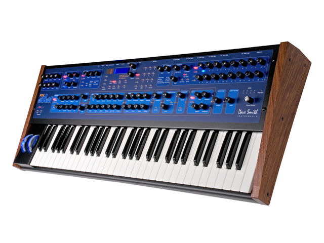 Prophet-style knobs are now a feature of the Poly Evolver.