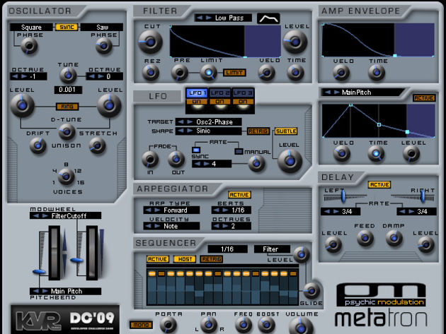 Psychic Modulation's Metatron is just one of the plug-ins in contention.