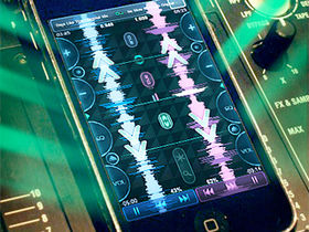 iPhone gets its first 'real' DJing app