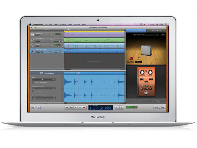 GarageBand '11 ships with every new Mac.