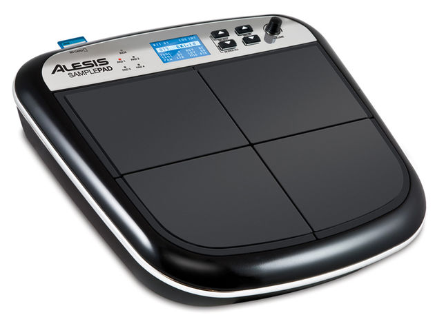 The SamplePad could be useful on stage or in the studio. Click the image for more product photos.