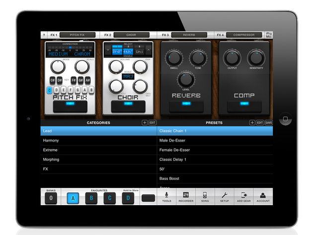IK Multimedia VocaLive for iPad, £13.99