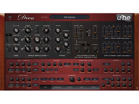 u-he Diva plug-in synth released