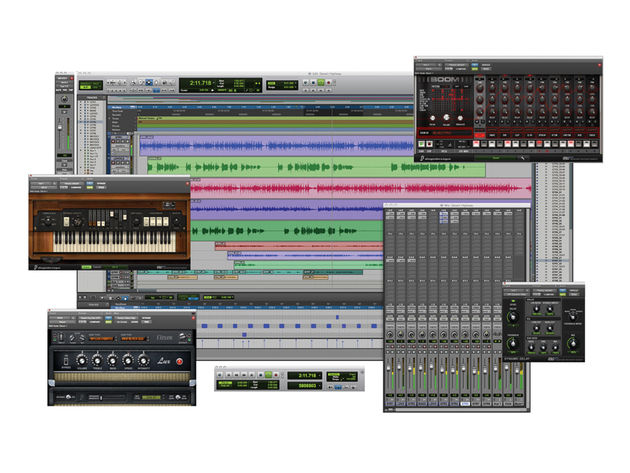 Pro Tools 8's new features are many and varied.