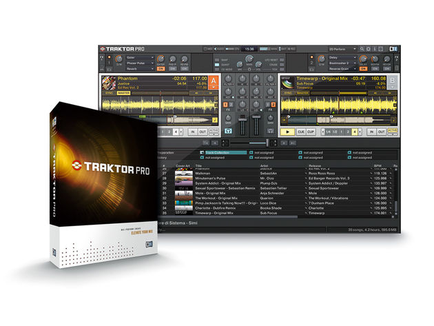 The redesigned Traktor interface contains many new features.