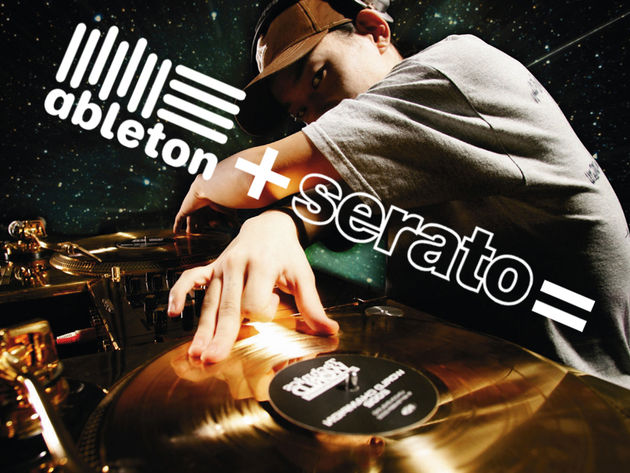 We might soon see a product that has Ableton and Serato branding on it.