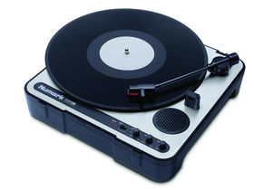 Numark releases portable USB turntable